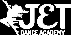 JET Dance Logo - White - PNG